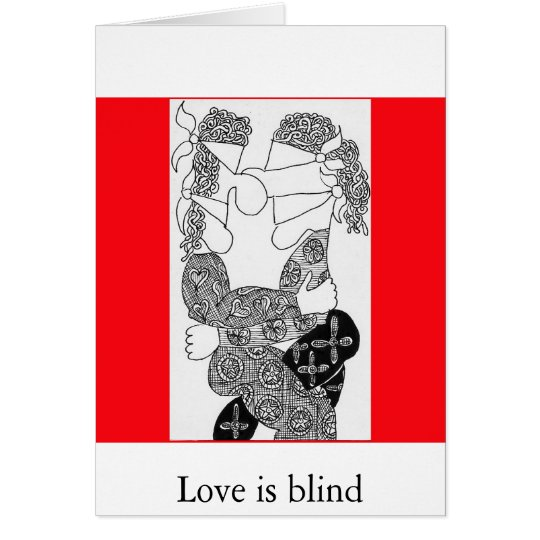 Love is blind card