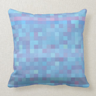 love is blue  squares pillows