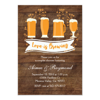 Love is Brewing Couples Shower Invitation
