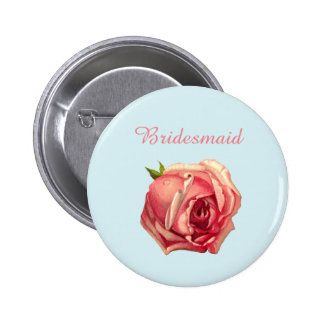 Love is Brewing: Tea Party Bridesmaid Button