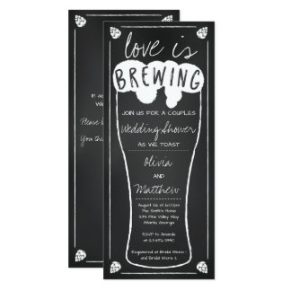 Love is Brewing Wedding Shower Invitation