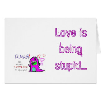 Love is... card