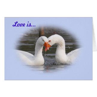 Love is... card