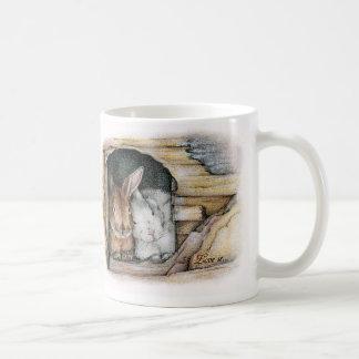 Love is... classic white coffee mug
