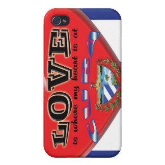 Love is Cuba i-phone 4 Speck Case iPhone 4 Case
