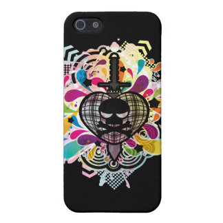 LOVE_IS_DEAD CASE FOR iPhone SE/5/5s