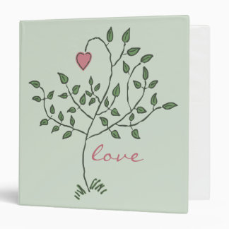 """love is deeply rooted 1.5"""" Binder"""