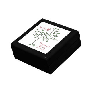 Love is deeply rooted Bridesmaid Gift Box