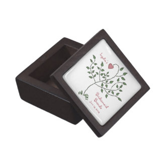 Love is deeply rooted Bridesmaid Premium Gift Box