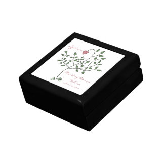 Love is deeply rooted Maid of Honor Gift Box