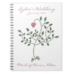 Love is deeply rooted Maid of Honor Notebook