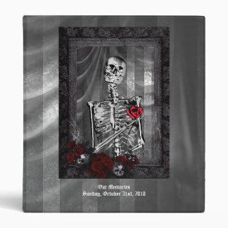 Love Is Eternal Gothic Wedding Album Vinyl Binder