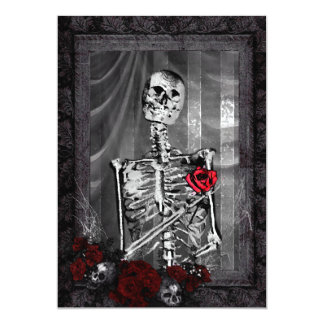Love Is Eternal Gothic Wedding Card