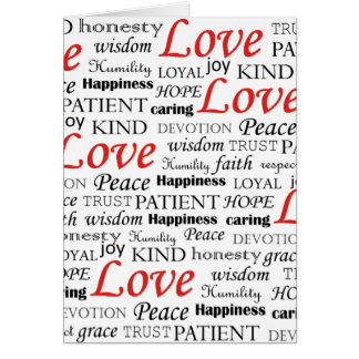 Love is Everything Card