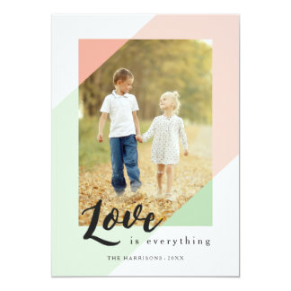 Love is Everything Valentine's Day Photo Card