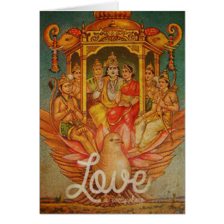 Love is everywhere card