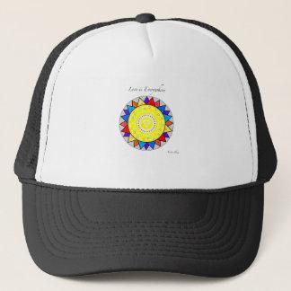 Love is Everywhere Mandala Trucker Hat