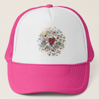 Love is everywhere trucker hat