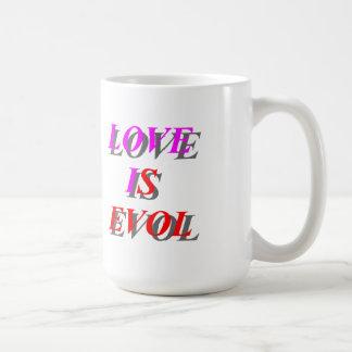 Love is Evol Classic White Coffee Mug