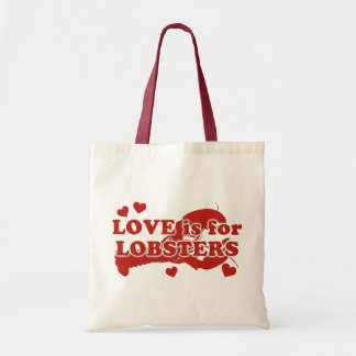 Love Is For Lobsters Tote Bag