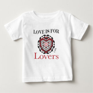 Love is for Lovers sacred geometry Baby T-Shirt