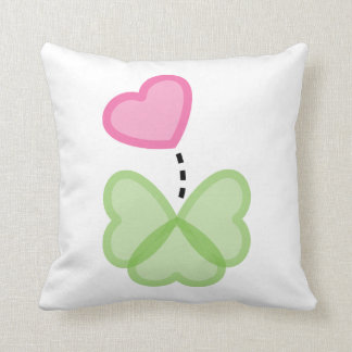 Love is for the lucky throw pillow