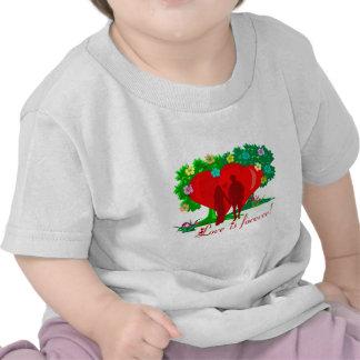 LOVE IS FOREVER INFANT T-SHIRT