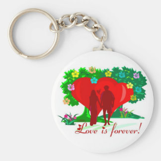 LOVE IS FOREVER KEYCHAIN