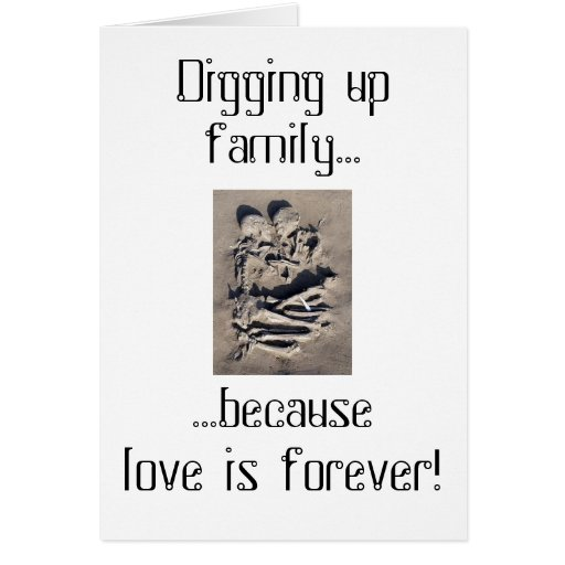 Love is forever line greeting cards