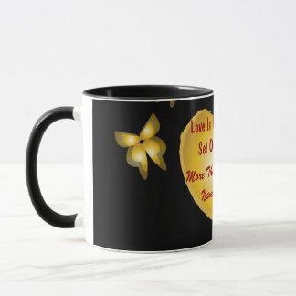 Love Is Friendship Set On Fire Mug-Customize Mug