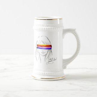 Love Is Gender Blind 18 Oz Beer Stein