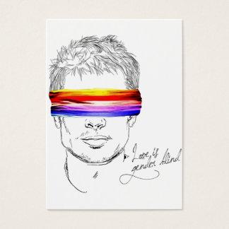 Love Is Gender Blind Business Card