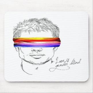 Love Is Gender Blind Mouse Pads
