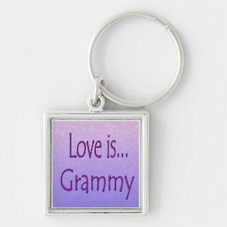 Love Is... Grammy Keychain