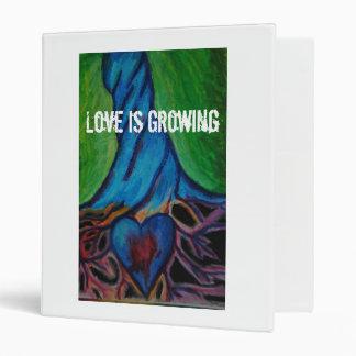 Love is Growing binder