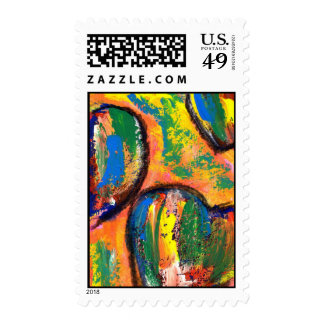 love is happiness postage