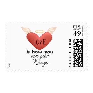 love is how your earn postage