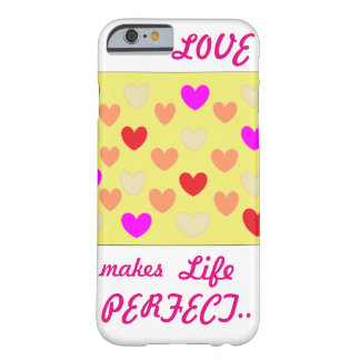 Love is in Air.. Barely There iPhone 6 Case