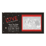 Love is in our Hearts Save The Date Photo Cards