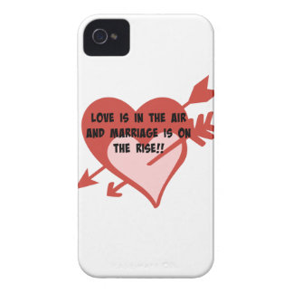 Love Is In The Air and Marriage Is On The Rise!! iPhone 4 Case-Mate Cases