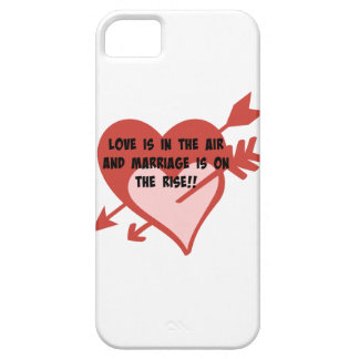 Love Is In The Air and Marriage Is On The Rise!! iPhone 5 Covers