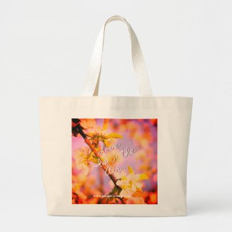 Love is in the air and weddings in the family! large tote bag