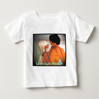 Love is in the Air Baby T-Shirt