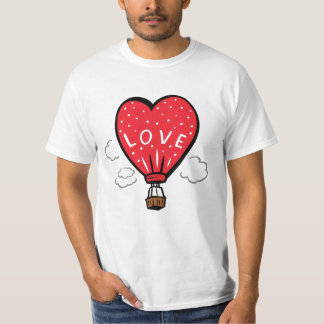 Love is in the air balloon T-Shirt