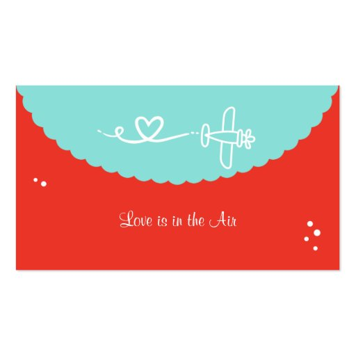Love is in the Air Business Cards