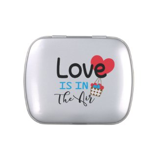 Love Is In The Air Candy Tin