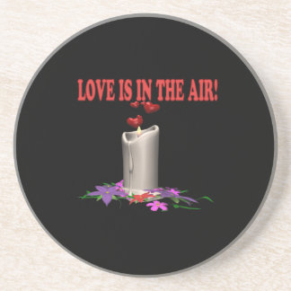 Love Is In The Air Drink Coasters