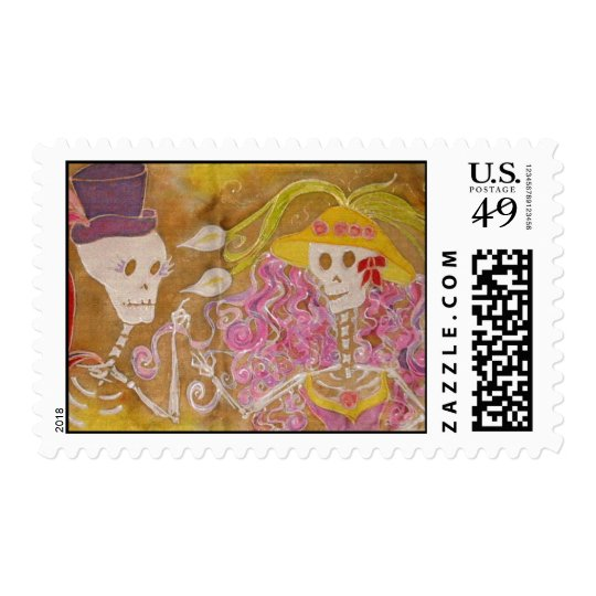 love is in the air - Customized Postage Stamp