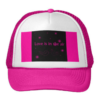 Love Is In The Air Hat