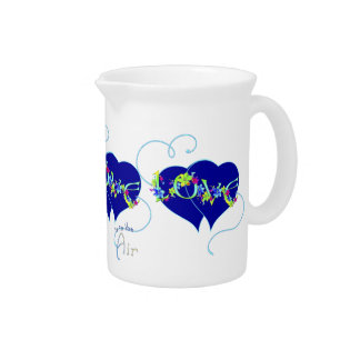 Love Is In The Air Hearts Pitcher